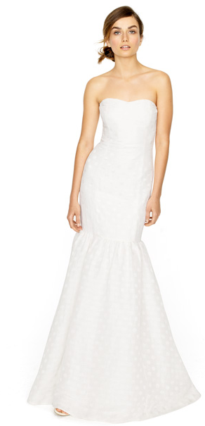 j crew spring 2012 wedding dress