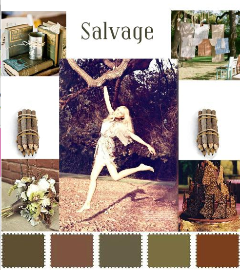 salvage wedding