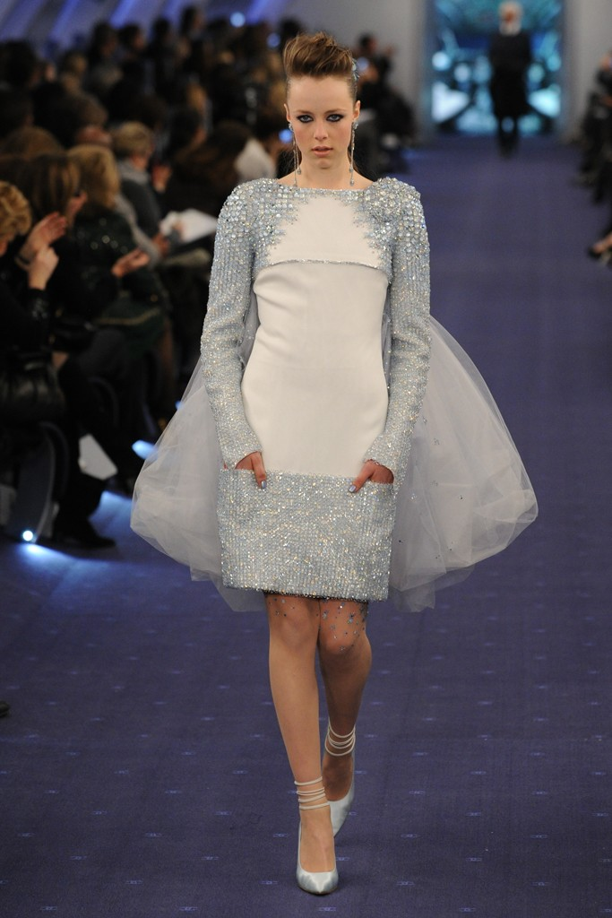 chanel paris couture fashion week 2012