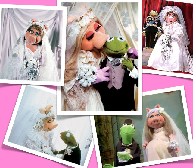 Miss Piggy Bride