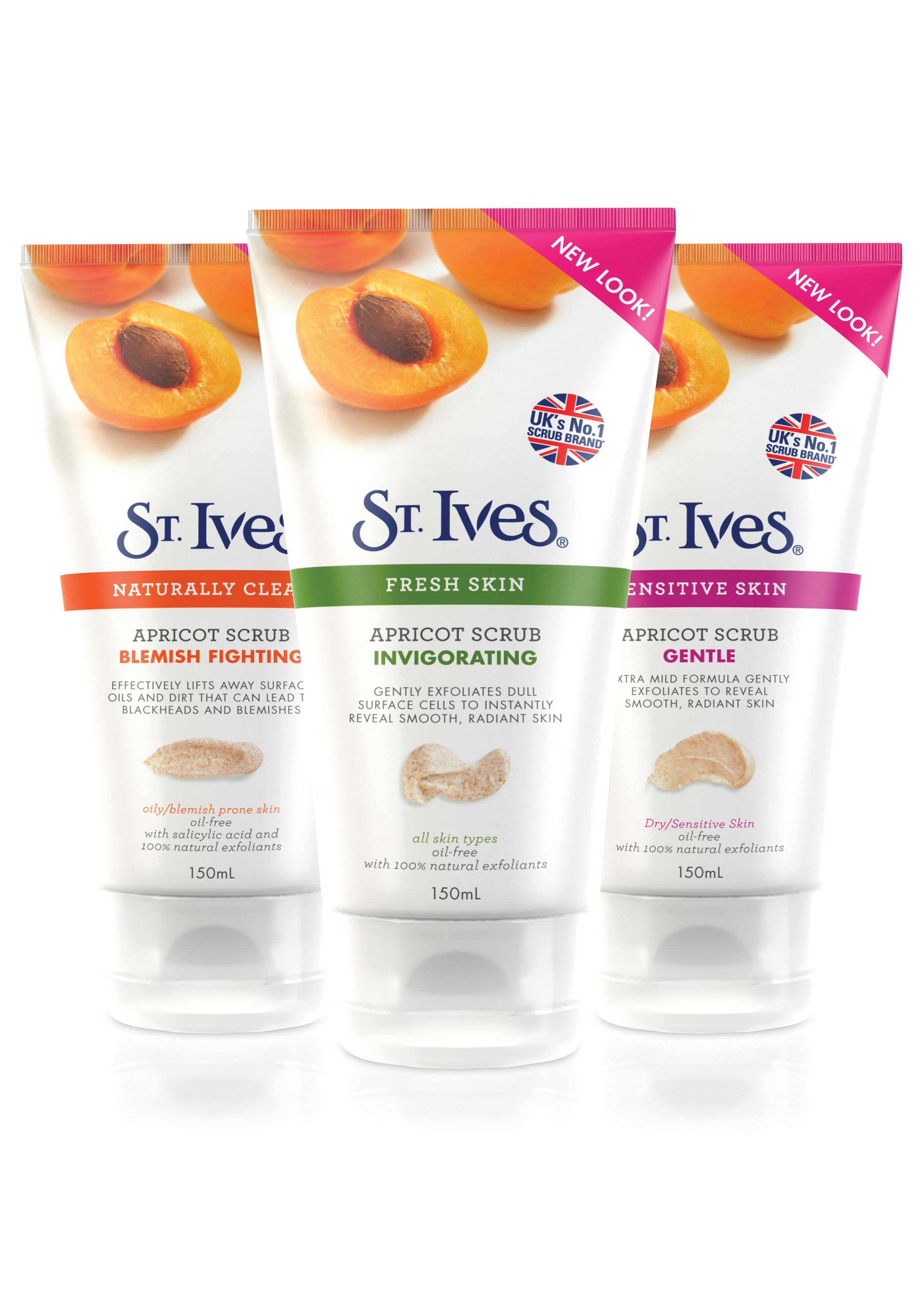 Coupon st ives apricot scrub