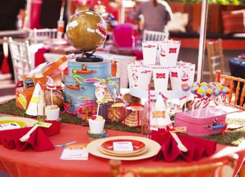 kids carnival table