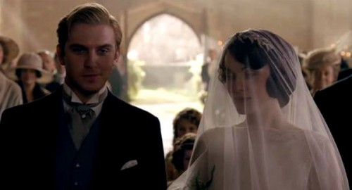 lady mary wedding downton abbey