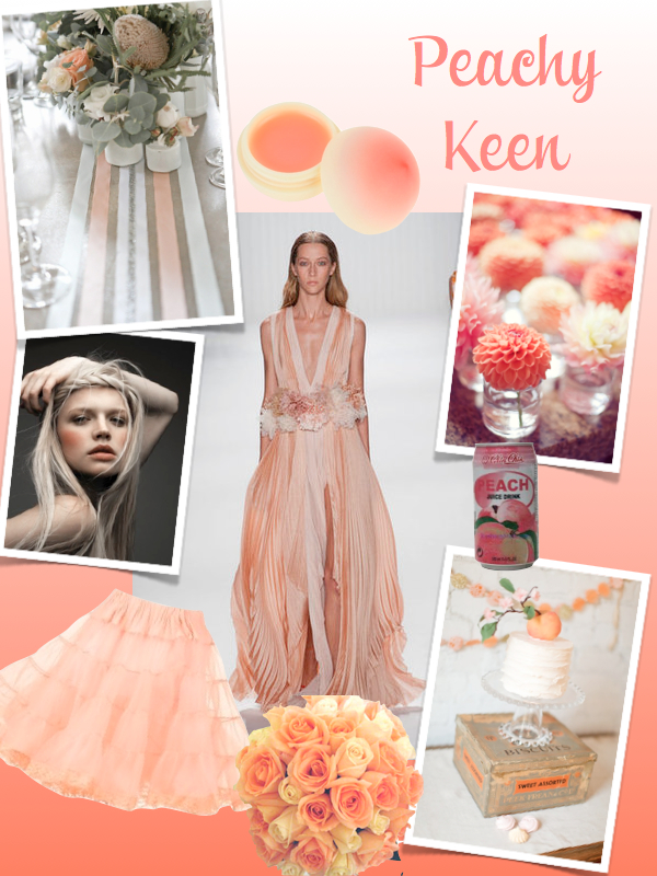 Peachy Keen Wedding