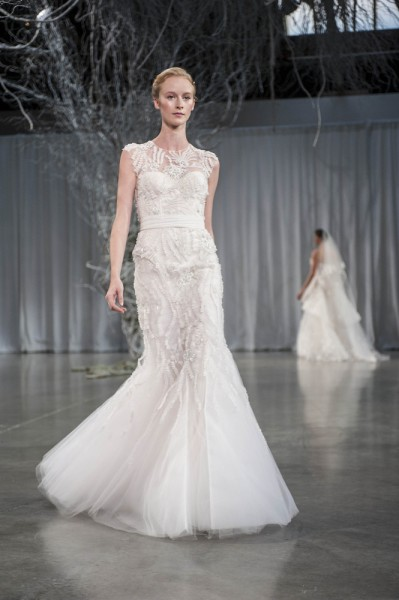 Monique Lhuillier 2013 bridal trends