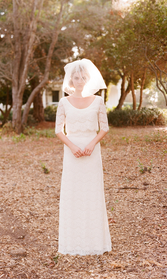 twigs and honey wedding dress
