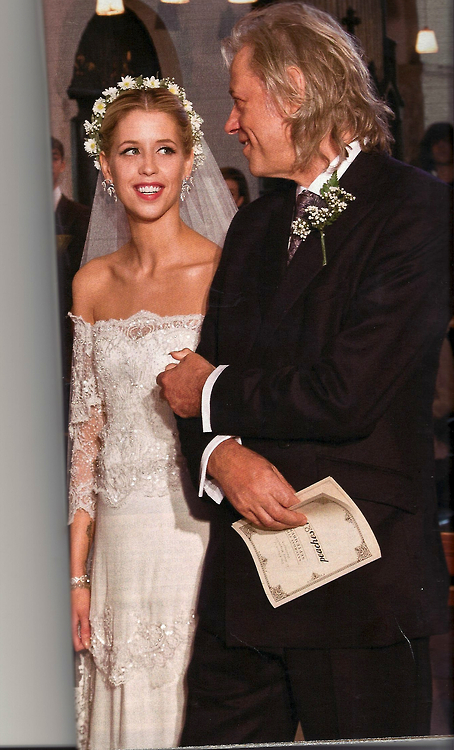 2012 celebrity brides peaches geldof