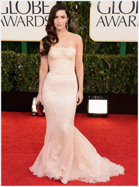 megan fox golden globes red carpet looks
