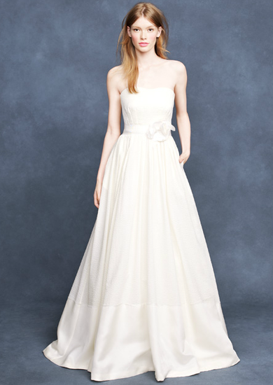 J. Crew Spring Wedding collection Corliss