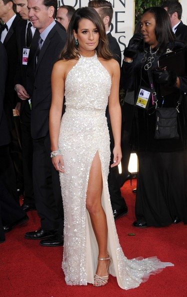 Lea Michele golden globes