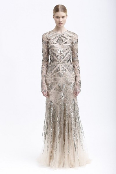 monique lhuillier pre fall 2013