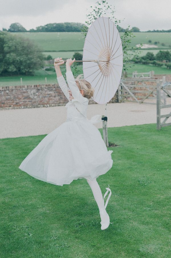 ballerina bridesmaid