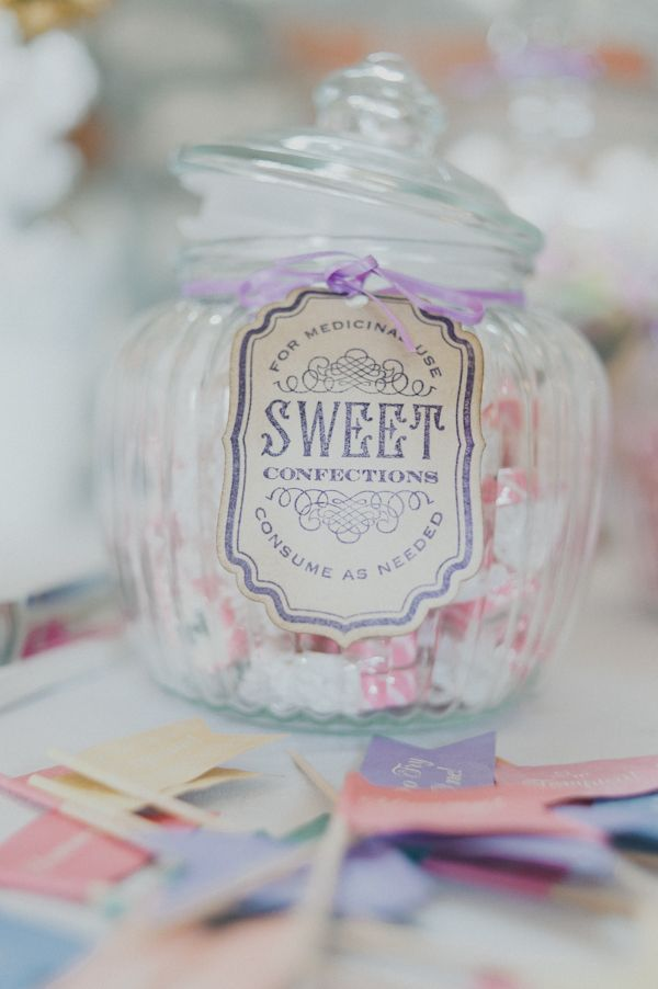 antique sweet buffet wedding