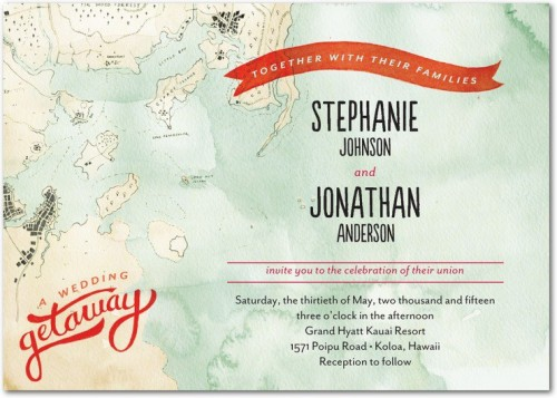 wedding stationery trends destination