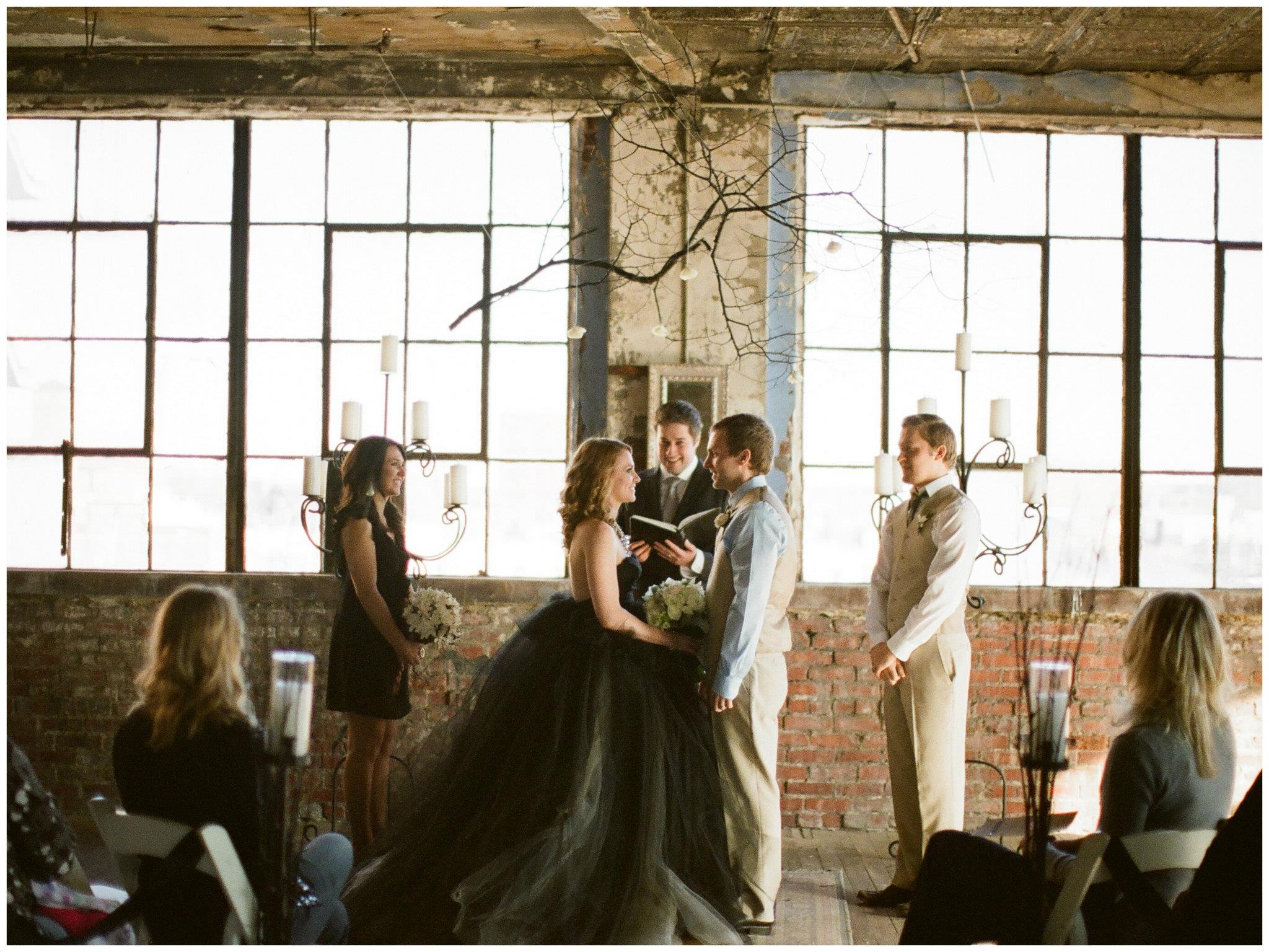 intimate kansas wedding