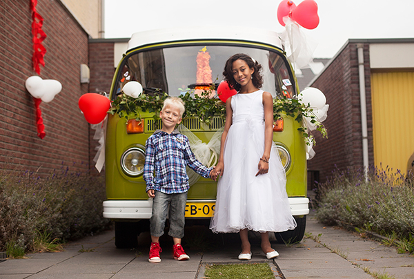 wedding vw camper van
