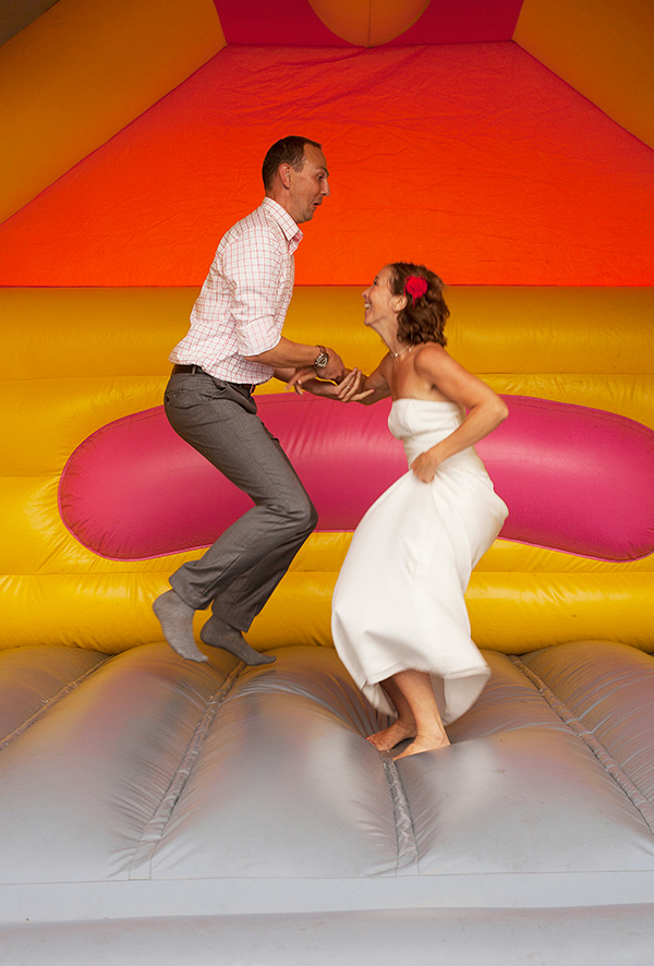 wedding bouncy castle