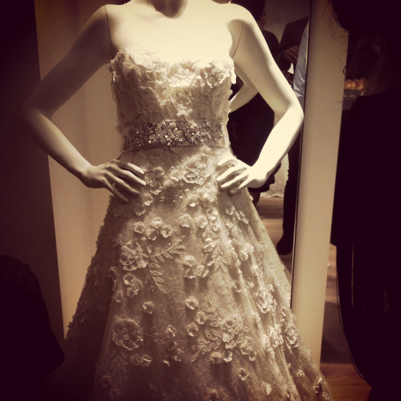oscar de la renta bridal london