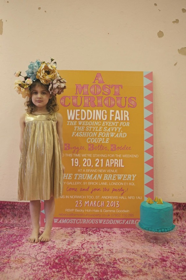 a most curious wedding fair london