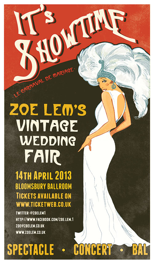 zoe lem's vintage wedding fair