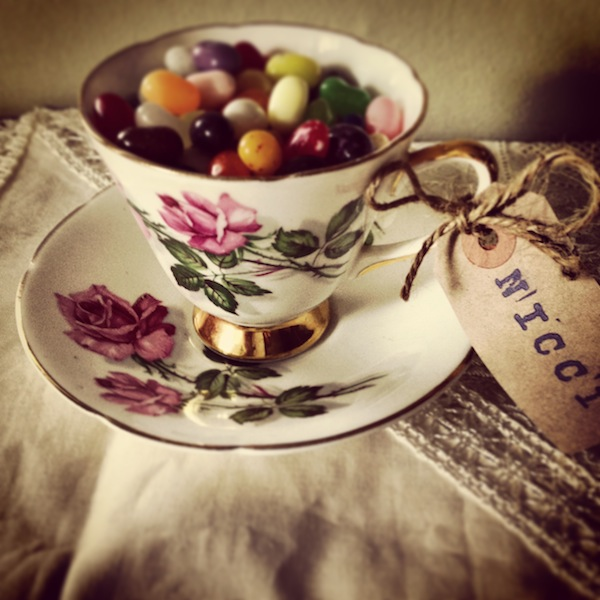 Tea Cup Wedding Favour