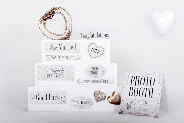 wedding signs recyclable