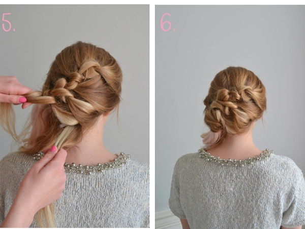 bridal hairstyle tutorial