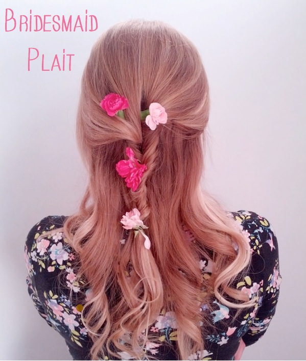 bridesmaid plait tutorial