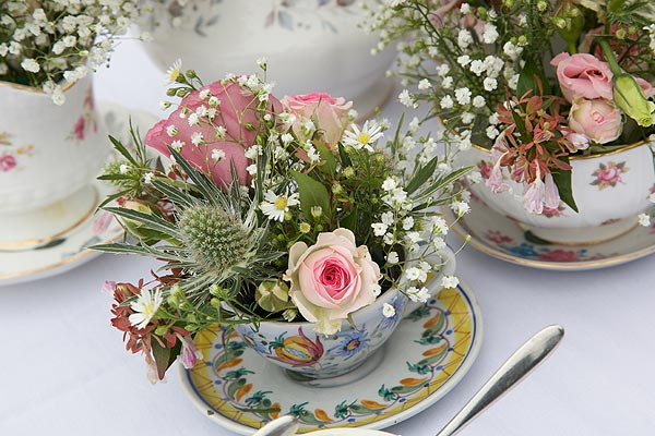 english garden wedding details