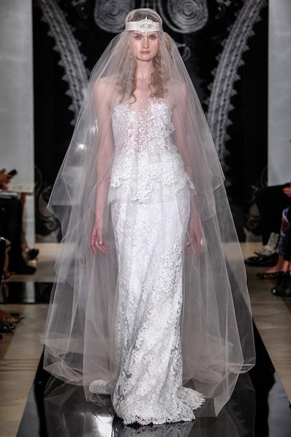 wedding dress reem acra