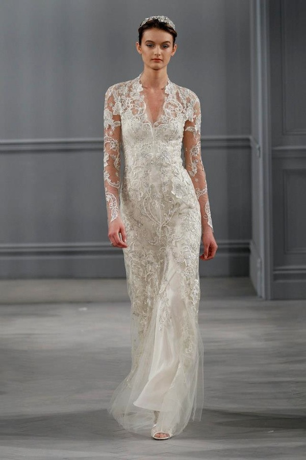 monique lhuillier clementine wedding dress