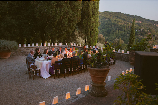 tuscan wedding decor