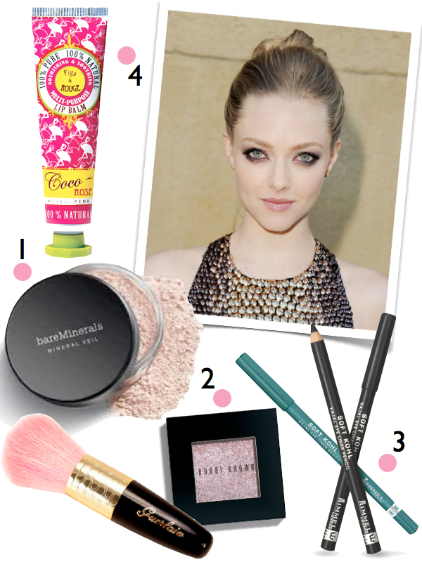 amanda seyfried beauty tutorial