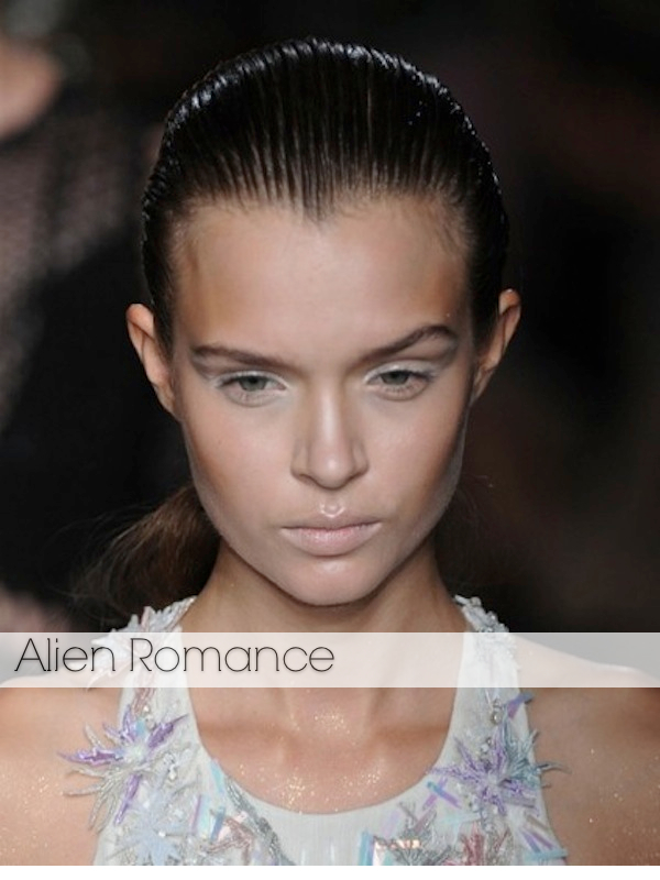 beauty looks from LFW spring 2014