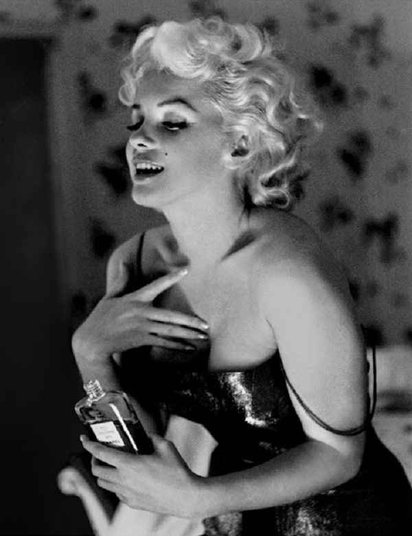 marilyn monroe chanel no5 perfume