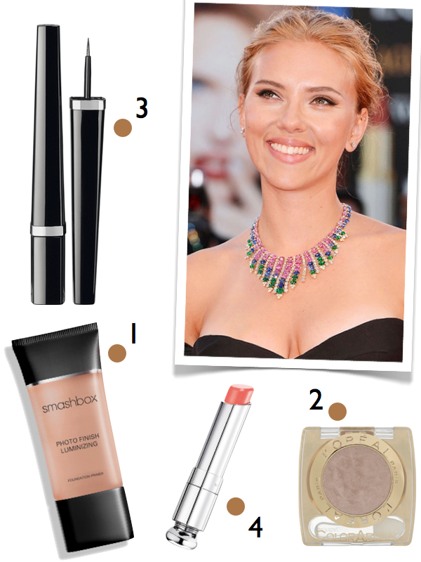 scarlett johansson make up tutorial