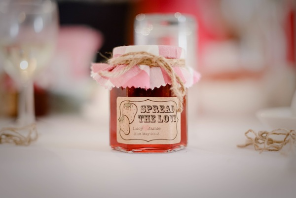 jam wedding favour
