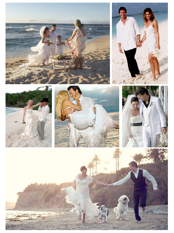 celebrity beach bride.001 - celebrity beach wedding