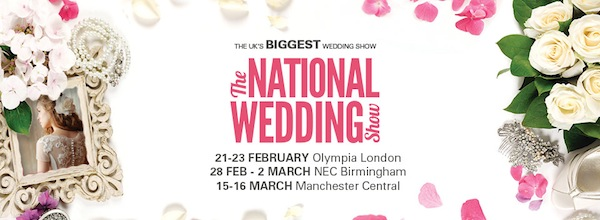 win tickets for the national wedding show 2014
