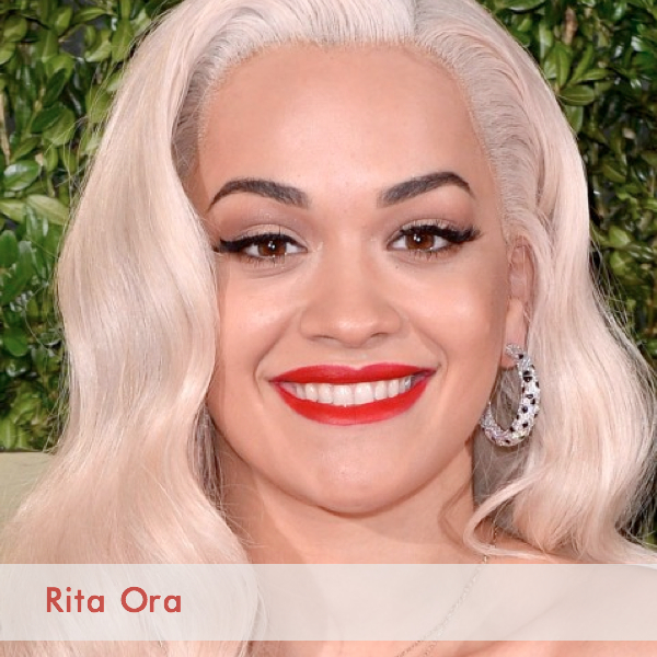 rita ora british fashion awards beauty