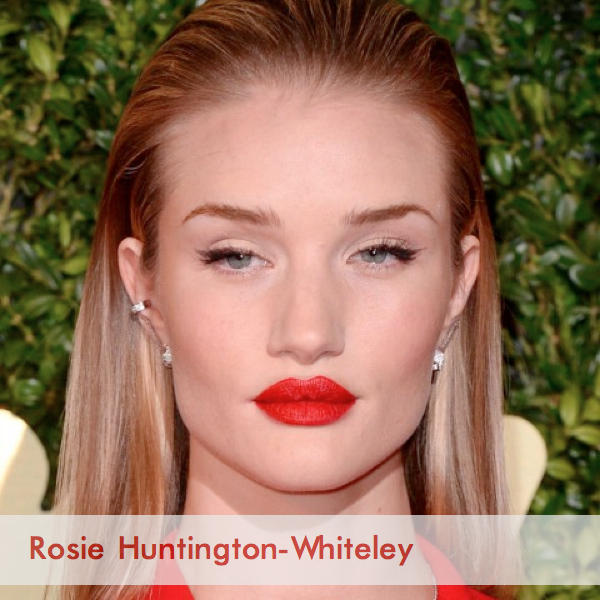 rosie huntington whiteley british fashion awards beauty
