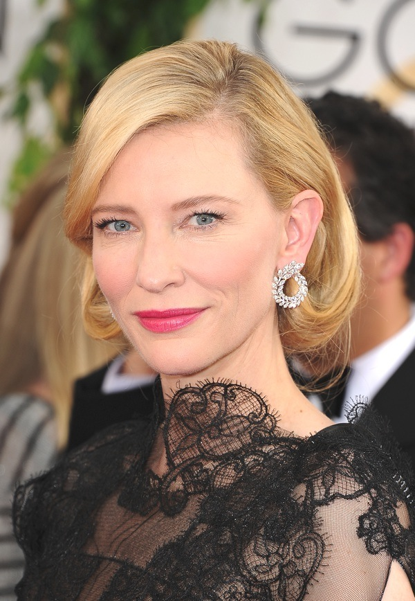 cate blanchett golden globe awards 2014 beauty