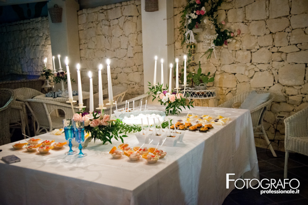 stylish sicilian wedding food