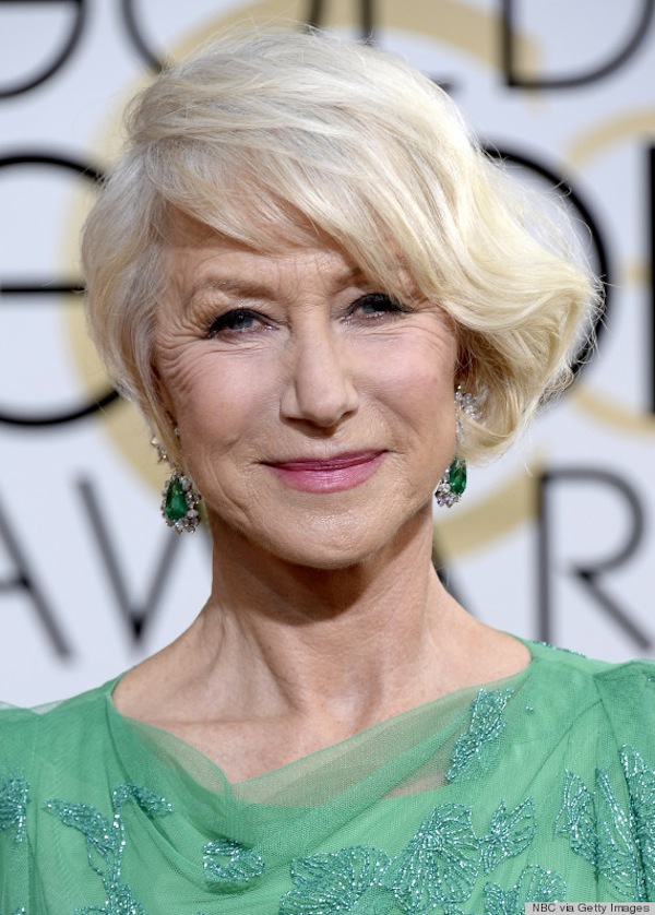 helen mirren golden globes 2014