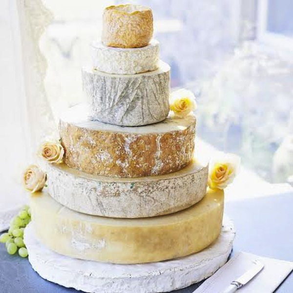 how to diy cheese wedding cake
