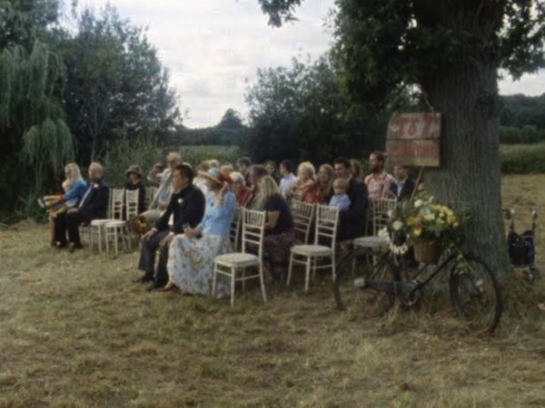 super 8 wedding film