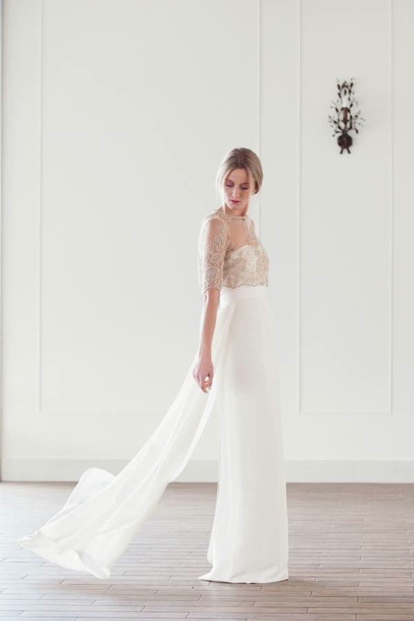 bouret wedding dress