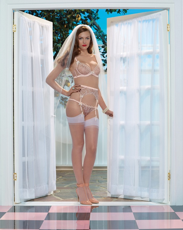 agent provocateur bridal collection 2014 ambrose