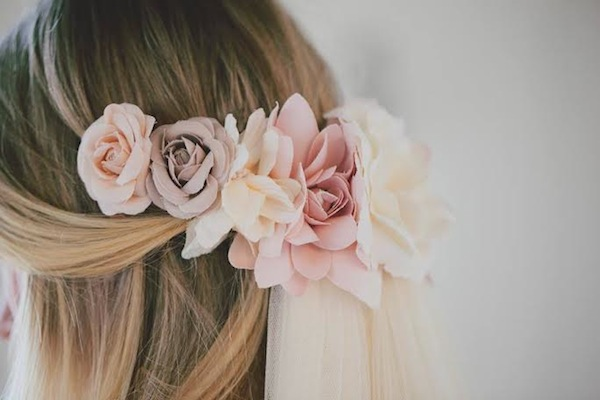 floral bridal accessories