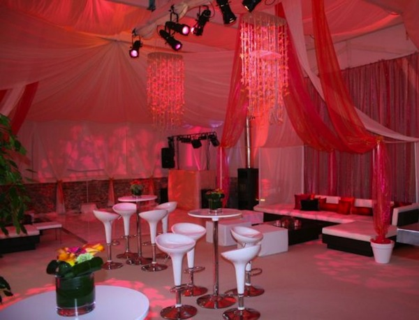 red marquee design